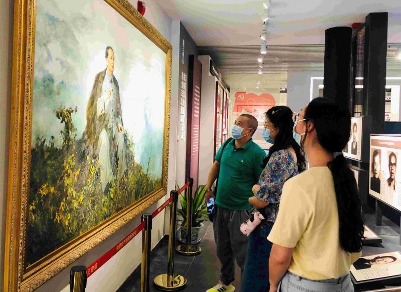 投资公司党支部组织全体党员参观中国共产党杭州历史馆